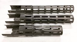 Isler Custom Gun Works MPX Competition Carbon Fiber Handguard