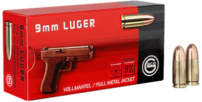 GECO Full Metal Jacket Round-Nose, 124g 9mm