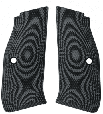 Lokgrips CZ Shadow 2 Palm Swell Checkered Black/Gray
